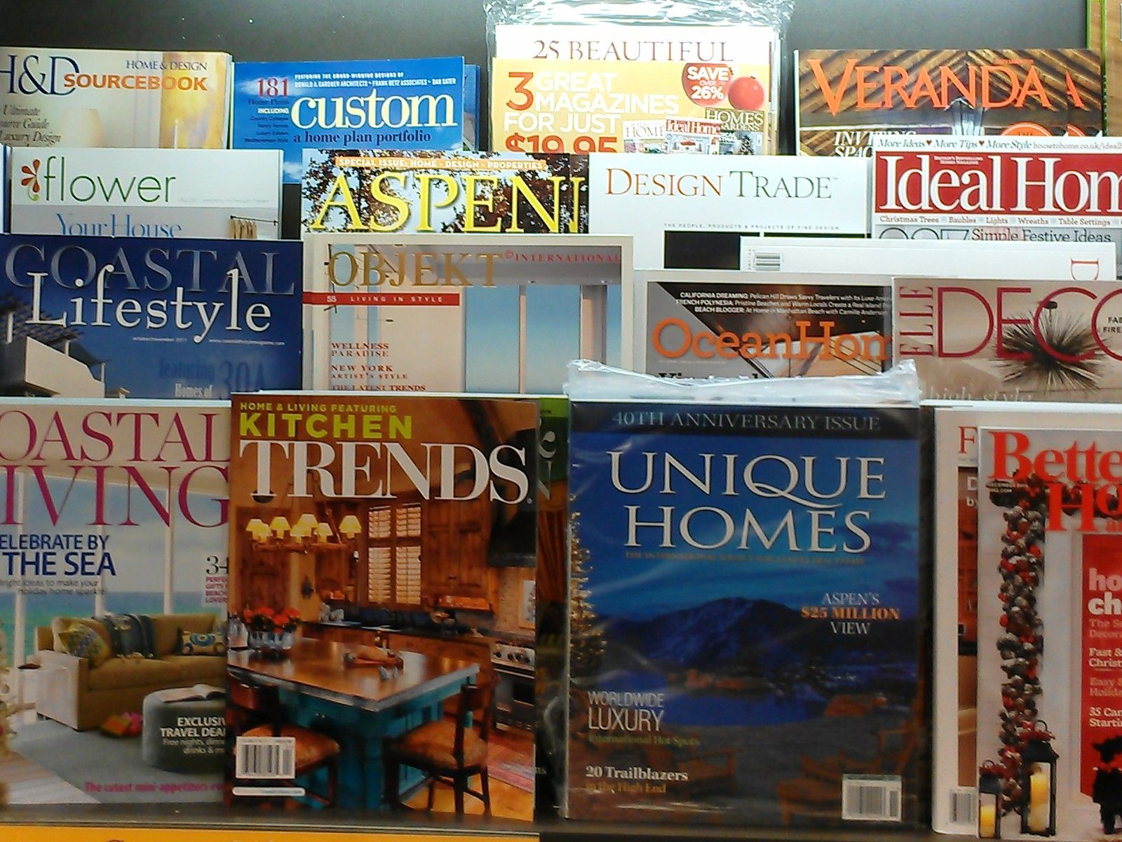 home guide magazine rack